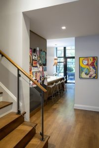 Childrens Art in Townhouse Renovation NYC